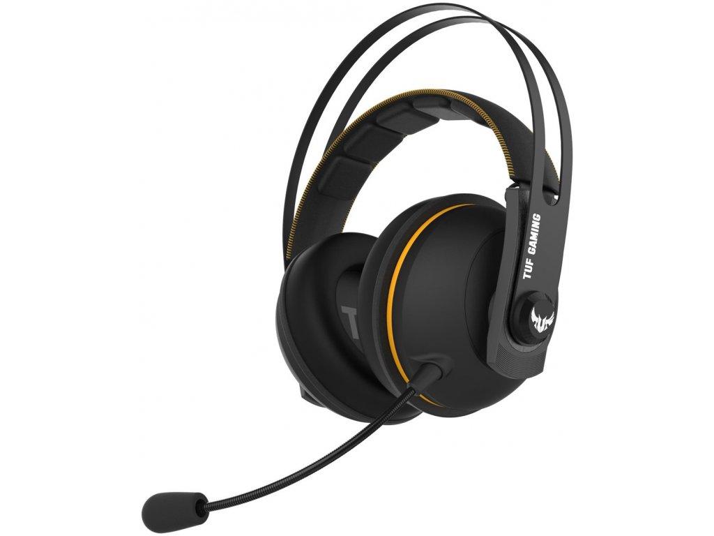 ASUS TUF GAMING H7 WL,Yellow, wireles gaming headset