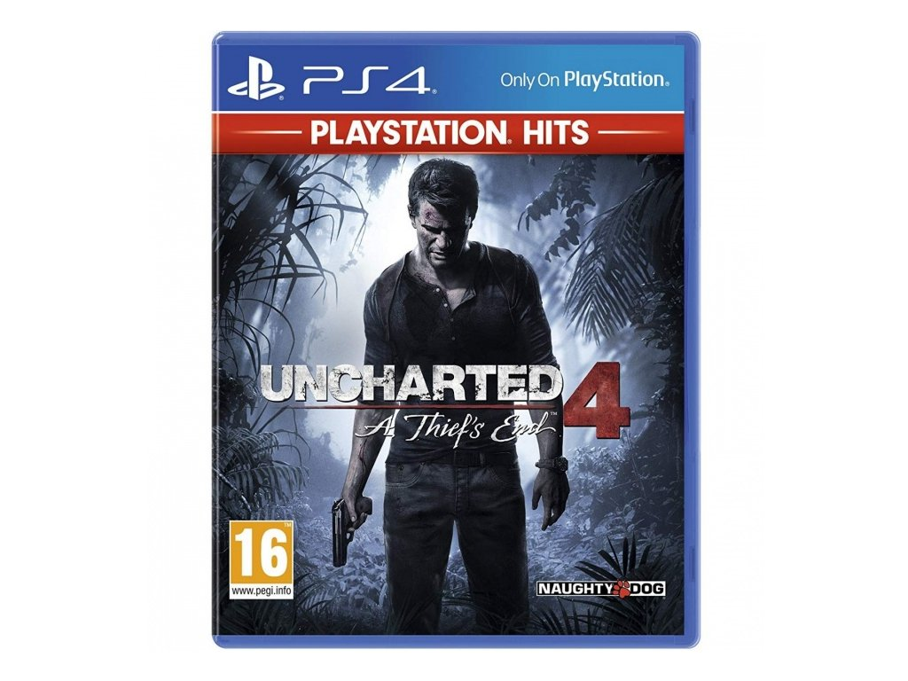 PS4 Uncharted 4: A Thief's End HITS
