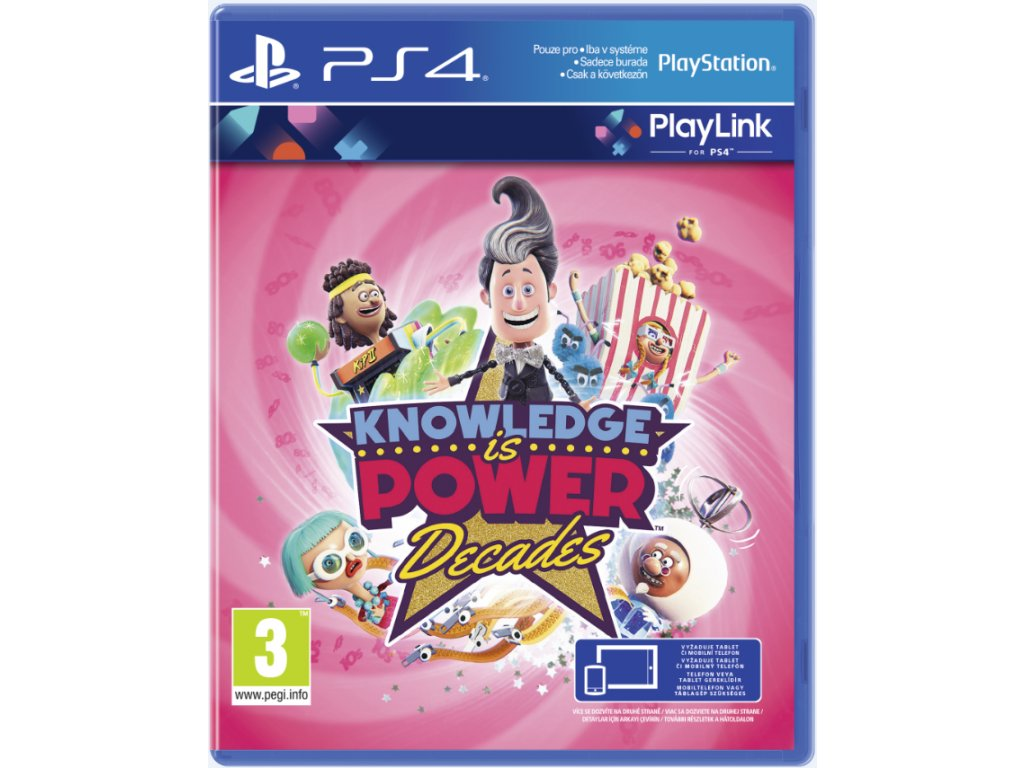 PS4 Knowledge is Power Decades