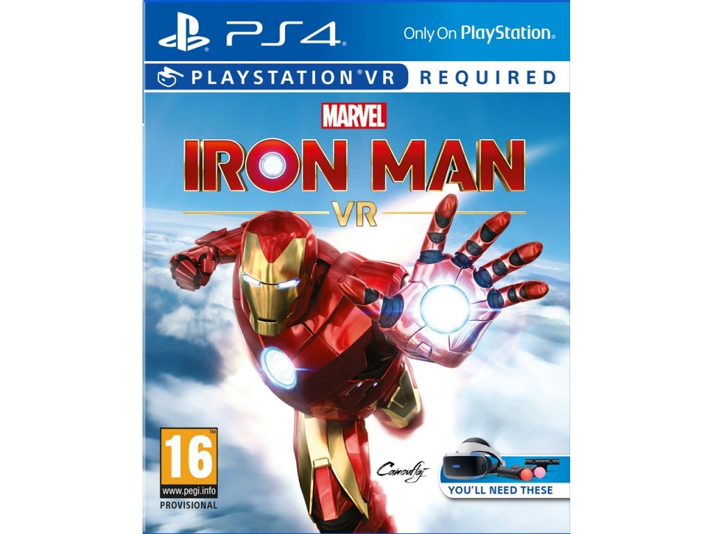 PS4 VR - Marvel's Iron Man VR
