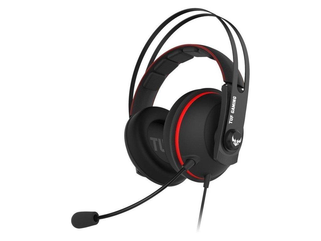ASUS TUF GAMING H7 CORE, RED, gaming headset