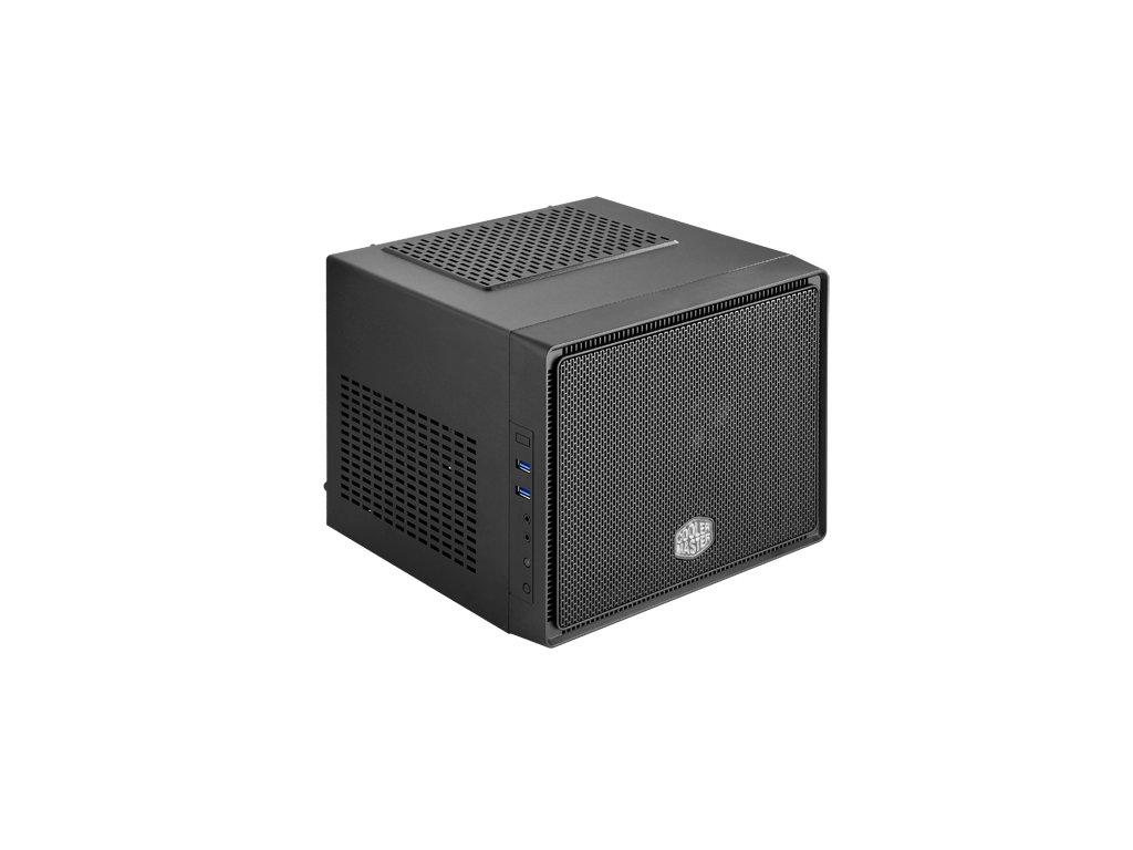 case Cooler Master mini ITX Elite 110, black, mini ITX, bez zdroje