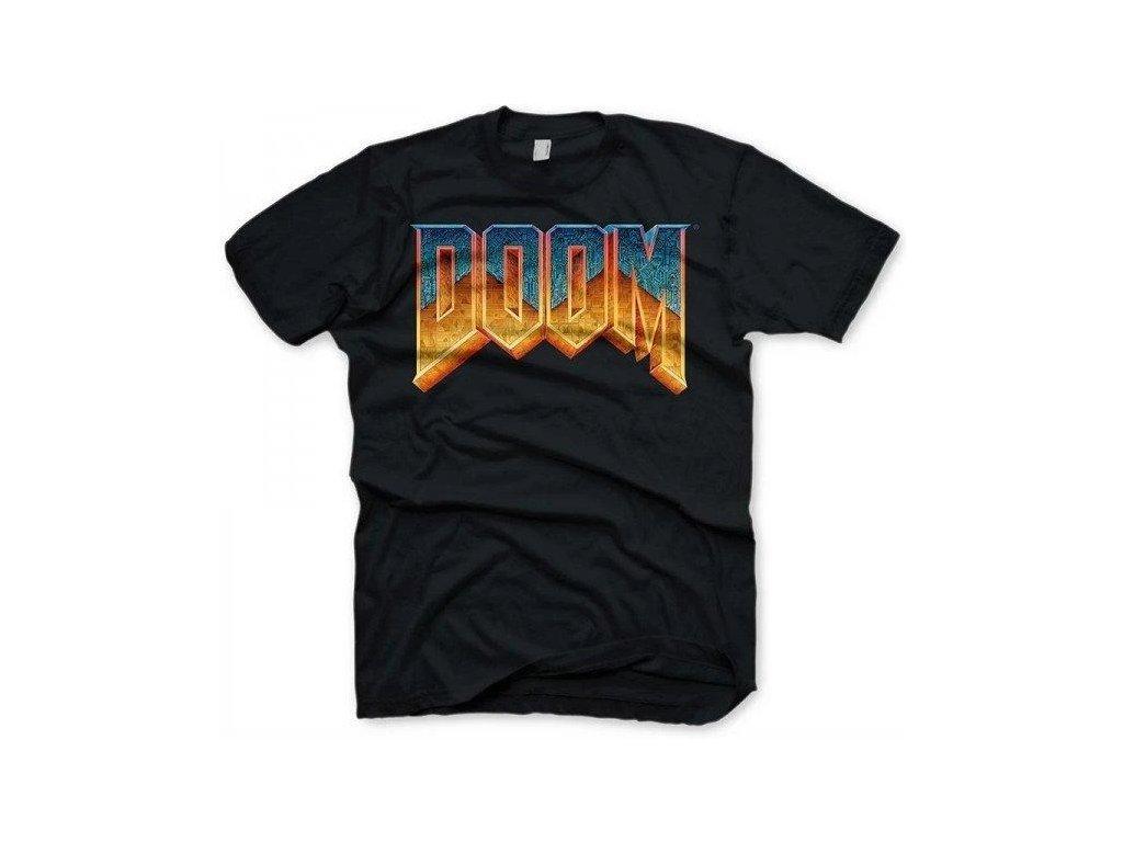 doom tshirt classic logo m size 482937.1