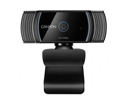 Canyon CNS-CWC5 webkamera, Live Streaming, 1080P Full HD, 2.0 Megapixels, USB 2.0, 360° rozsah, mikrofón
