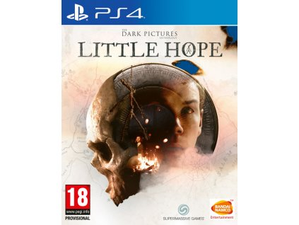 PS4 The Dark Pictures - Volume 1 (Man of MEDAN+ LITTLE HOPE) (Limited Ed.)